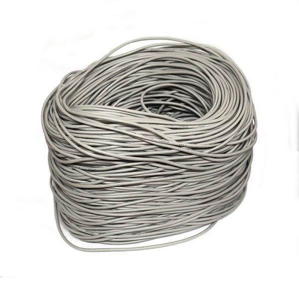 Rollo Cable UTP 305M CAT5E Marfil, CCA, 26AWG