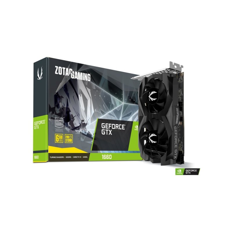 Tarjeta de Video Zotac GAMING GeForce GTX 1660 6GB