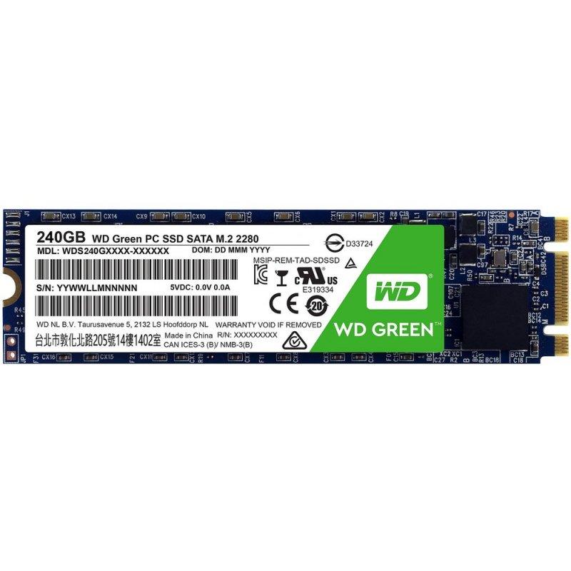 Disco SSD Western Digital Green 240GB M.2