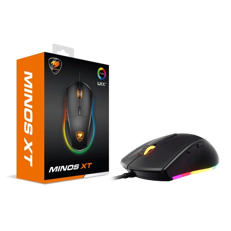 Mouse Cougar Gamer RGB Minos XT 4000dpi