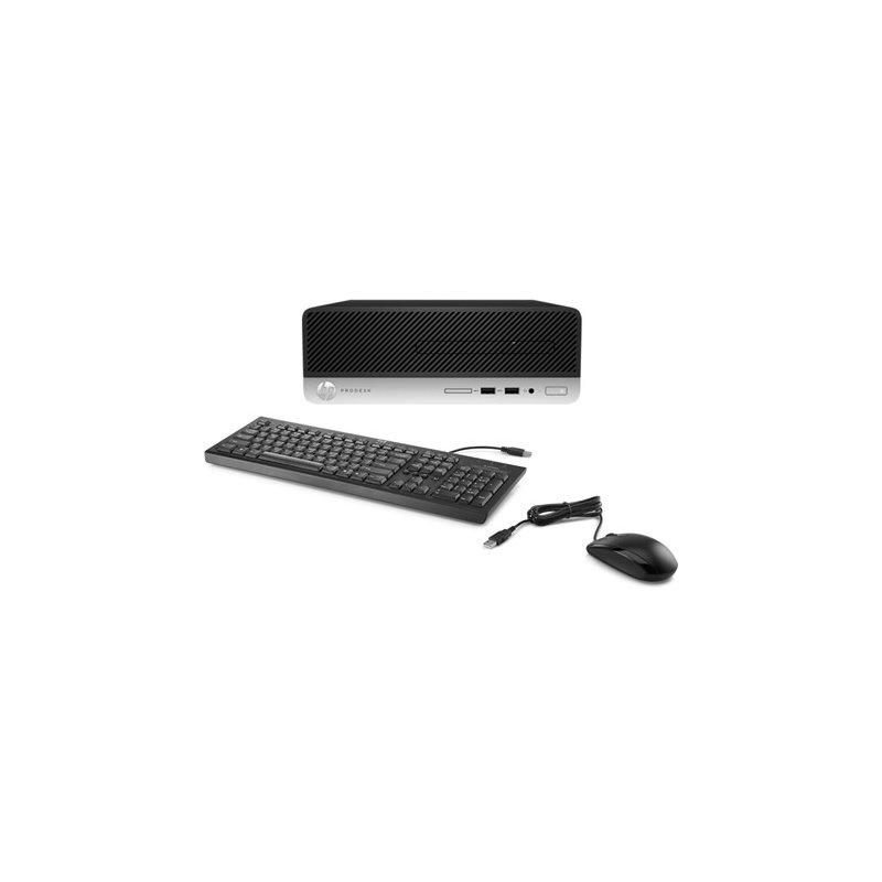 Pc Fijo HP Pro 400 G5 SFF i5-8500 1TB + 256SSD 8GB W10 Pro