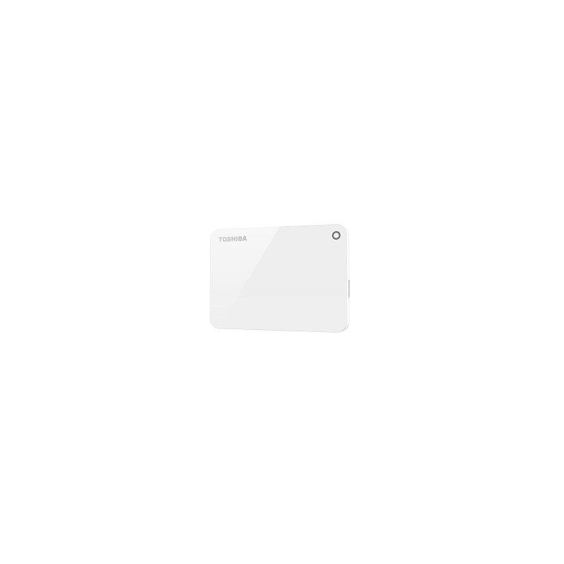 "Disco Duro Externo Toshiba 2TB 2,5"" Canvio Advance White"