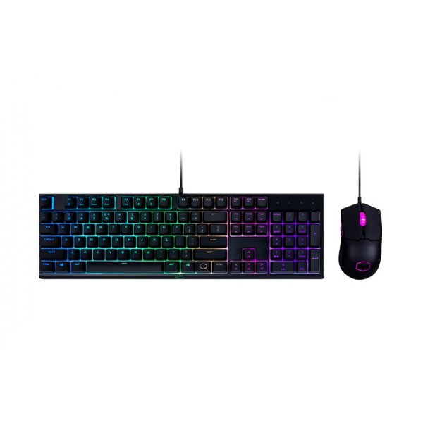 Kit Gamer Teclado Cooler Master + Mouse MS111