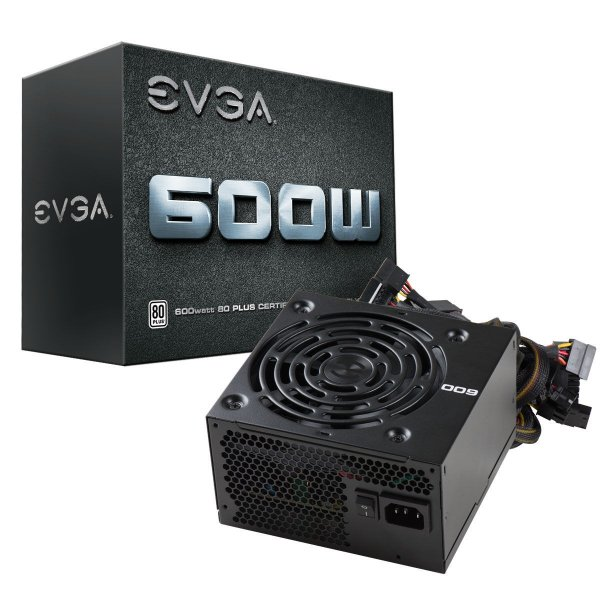 Fuente de poder EVGA600W White Certificada