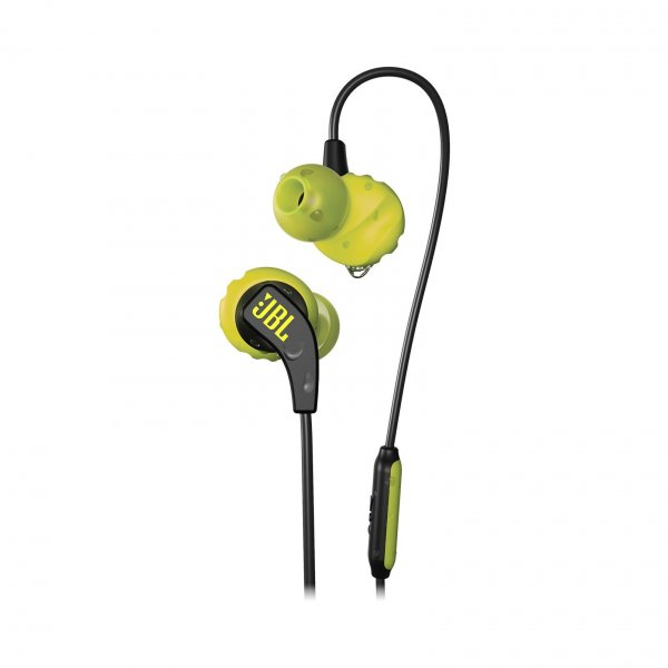 Audifonos Deportivos In-Ear JBL Endurence Run Negro / Amarillo