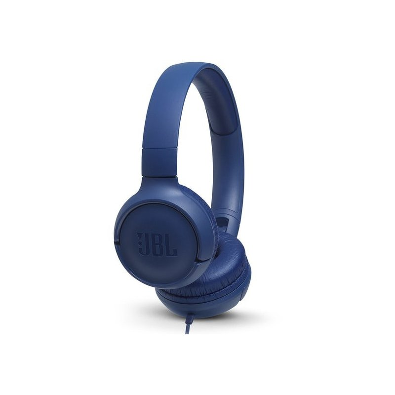 Audifonos JBL T500 con cable Azul