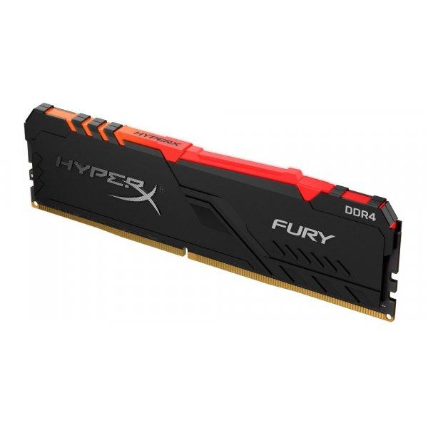 Memoria Ram HyperX Fury RGB 1x8GB 3466MHz DDR4 DIMM