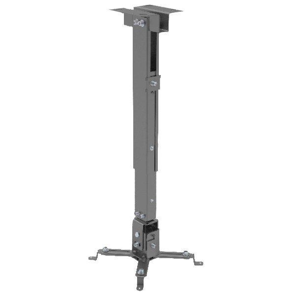 Soporte para Proyector a Techo Extensible 80-120 CM 360° 20KG Blanco